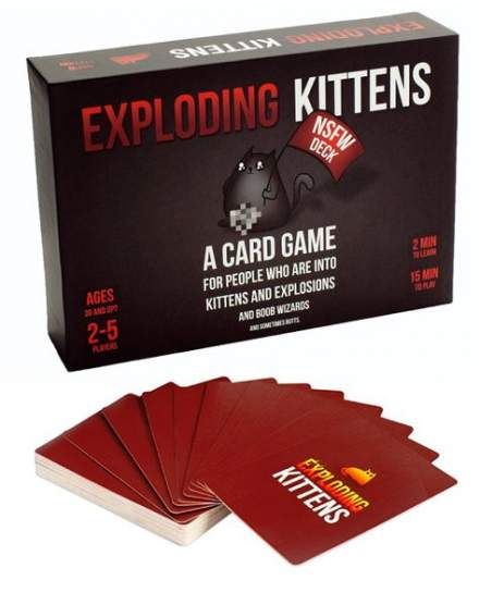 Super Exploding Kittens Card Games Plays Ideas Games Carnival