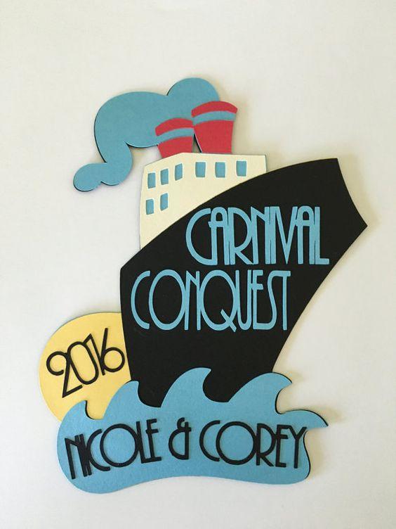 Fun door decoration for your next cruise warning it for Idea fire door