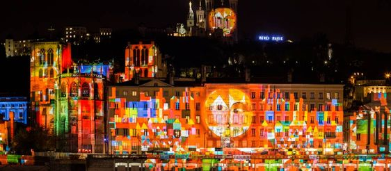 The Festival of Lights in Lyon