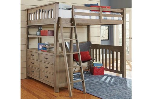 Top 10 Best Full Size Loft Beds For Adults Kids With Desk In