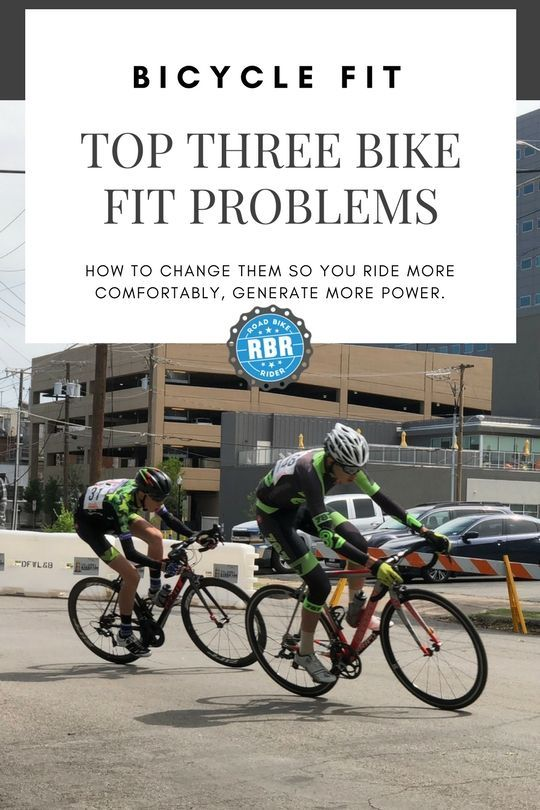 Top 3 Bike Fit Problems And How To Fix Them Cyclisme Idees Velo
