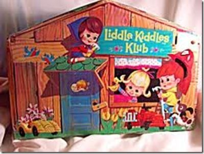 Little Kiddles play House and carrying box