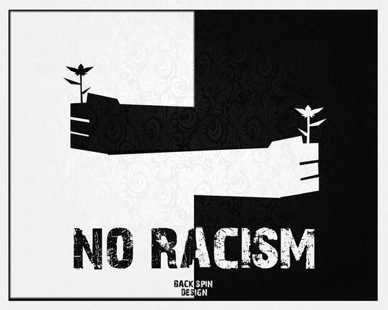 Резултат с изображение за anti racist poster