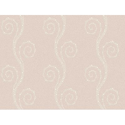 """Brewster Home Fashions Brilliance Vortex Modern Trail 27' x 27"""" Scroll 3D Embossed Wallpaper Color: Lilac"""