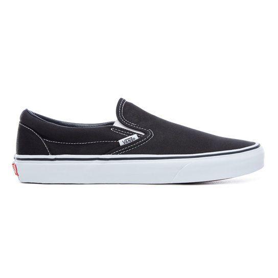 Chaussures Classic Slip-On | Noir | Vans | Chaussures slip on ...