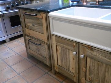 beetle wood kitchen cabinets | Colorado Beetle Kill Pine Kitchen ...