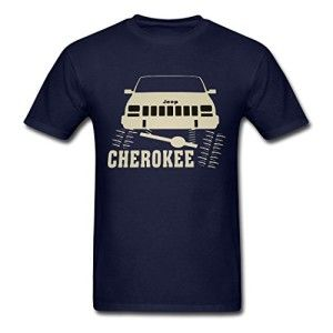 UnisexFit-Mens-Jeep-Cherokee-XJ-Flexing-Rock-Crawler-T-Shirt-Small-0