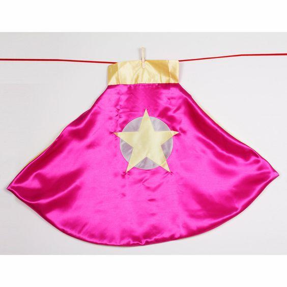 Fab.com | Soaring Star Cape Pink & Yellow