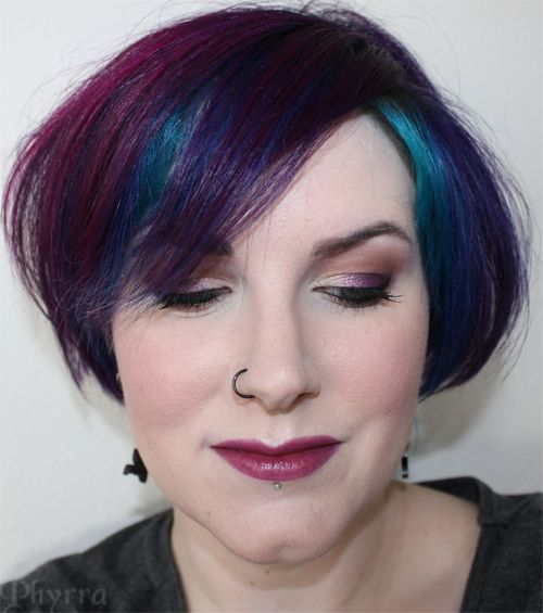 Get the Look: Purple and Gold Tutorial