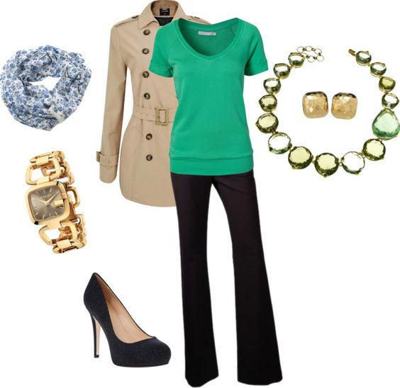 """""""Green and gold"""" by jossiebristow on Polyvore"""