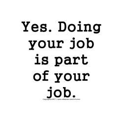 Human Resources - it's your job!