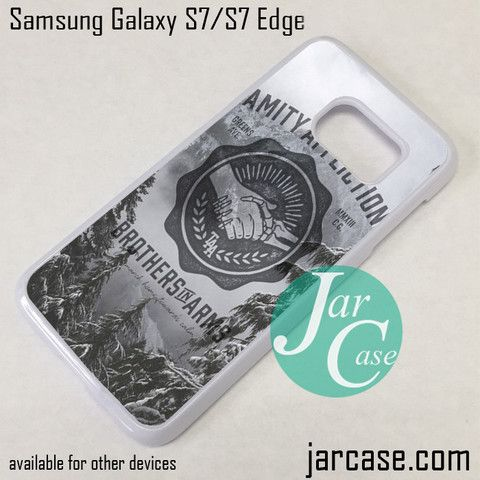 The Amity Affliction Brothers In Arms Phone Case for Samsung Galaxy S7 & S7 Edge