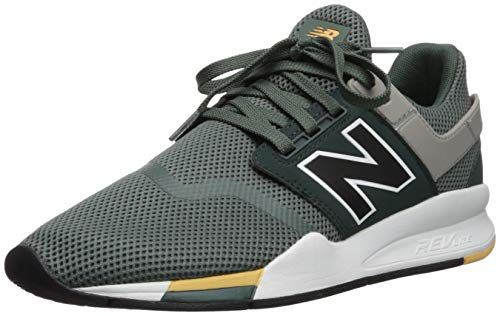 New Balance Men's 247v2 Sneaker, Faded Rosin/Black, 10 D US ...