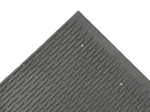 Rubber-Cal Safe-Grip Slip-Resistant Traction Mats - 7mm Thick x 34inch x 8ft - Black Runner by Rubber-Cal. $145.00. Natural rubber mat made with materials derived from Para rubber tree for a more environmentally friendly product than its competitors. Rubber protrusions of floor protector mats offer scraping action to keep existing floors cleaner. Anti slip rubber surface with added grip to ensure secure walkway in applications where weather or spills may cause wetness. D...