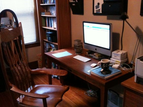 office workspace minimalist home space design pictures with wooden working arm chair your own f