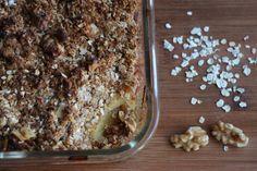 Paleo Apple Crumble with Cinnamon/ Apfel Crumble mit Zimt