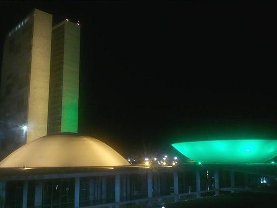 Brasília verde e amarelo