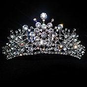 Rhinestone Splash Wedding Tiara – GBP £ 13.36