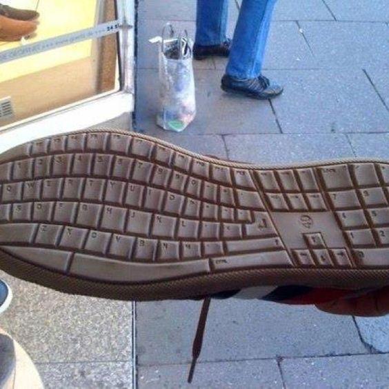 Geek shoe