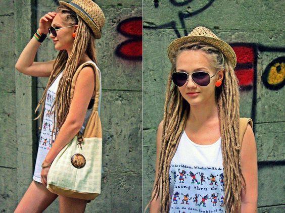 Sensational Dreads Girl Dreads And Hairstyles On Pinterest Short Hairstyles For Black Women Fulllsitofus