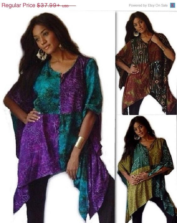 XMAS 20% OFF B234 Beautiful Batik by LotusTradersClothing on Etsy