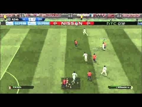 Calm Boy LDP Shot 6 goals   Real Madrid vs Losc Lille 9-1 2015 03 05
