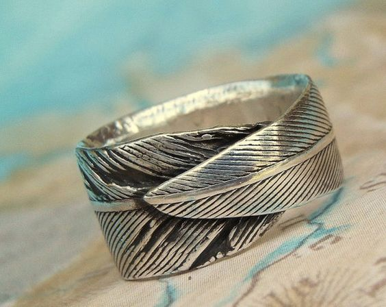 Real Feather Jewelry Pheasant Feather Ring Eco by HappyGoLicky, $85.00
