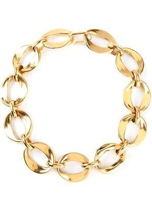 Chanel vintage gourmette necklace
