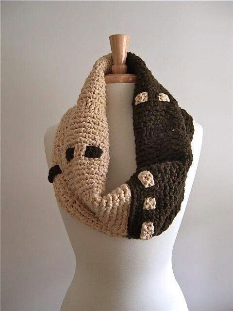 Cowels Crocheted Knitted, Knittig Crochet, Tunisian Crochet, Cowl Tunisian, Things Crochet, Crochet Karen, Crochet Natalie, Crochet Scarves Cowls,