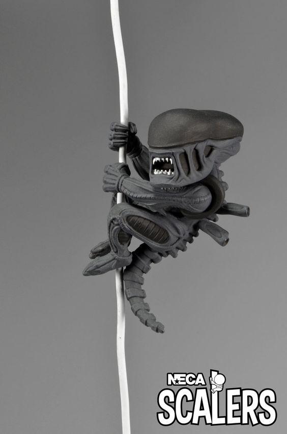 Figura Alien Scalers NECA, 5cm Alien el Octavo pasajero Nueva colección de figuras Scalers, de 5cm de altura, creadas por NECA, con los personajes más famosos de la ficción.