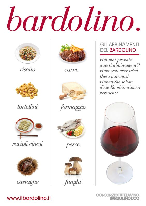 Bardolino & Food Pairings