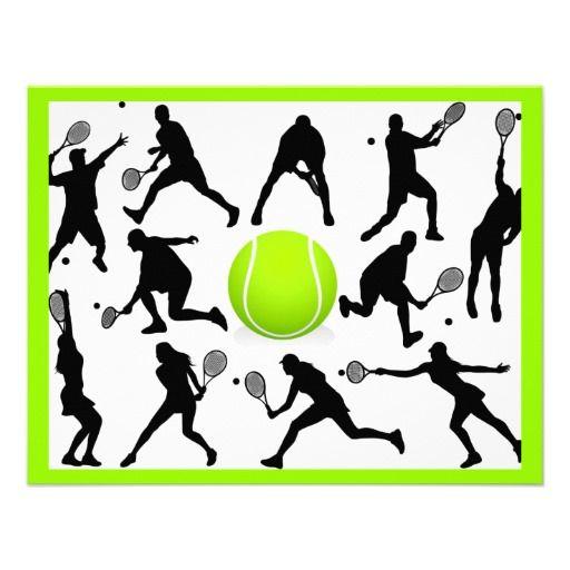 tennis announcements