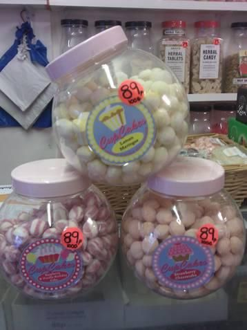 Cup Cake Sweets 89p per 100g