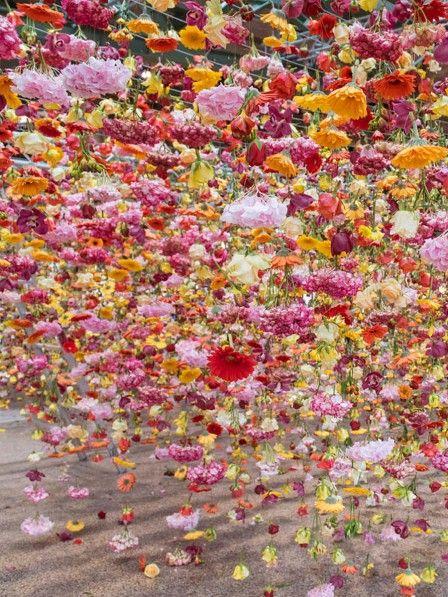 Die hängenden Gärten von Künstlerin Rebecca Louise Law sind auf jeden Fall eine Reise nach Berlin wert.