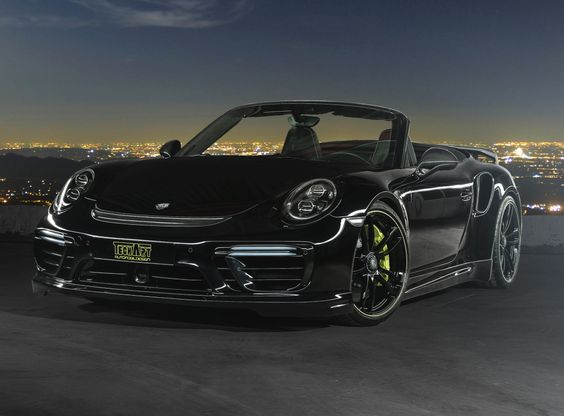 TechArt Porsche 911 Turbo S Cabriolet (991)