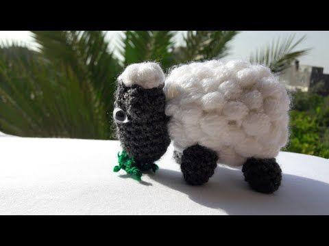 خروف كروشيه بغرزة الباف How To Crochet Sheep Youtube Crochet Sheep Crochet Patterns Crochet