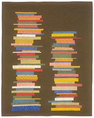 Library Books funquilts
