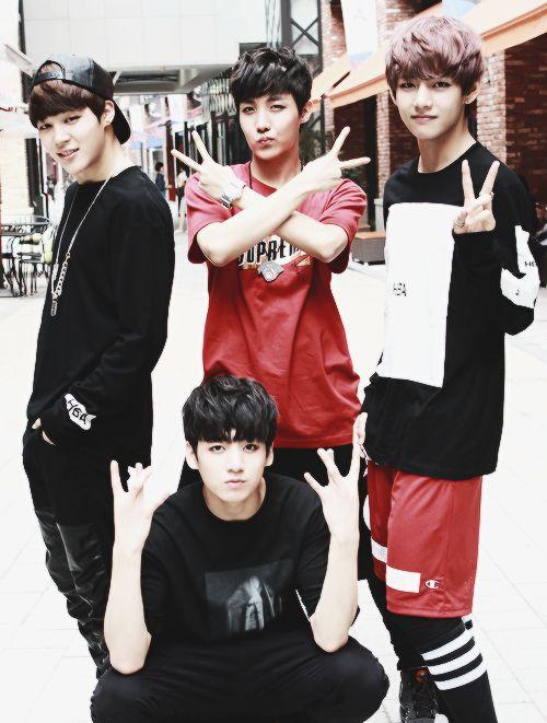 Bangtan Boys ❤ Jimin, Hoseok (jhope), Taehyung (v) & Jungkook (kook) | tumblr