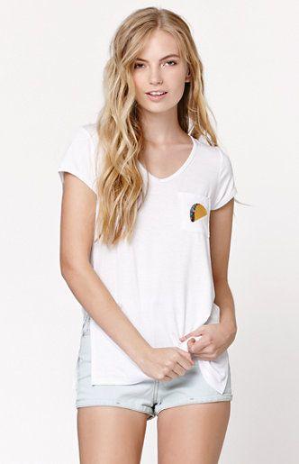 Taco V-Neck Short Sleeve T-Shirt