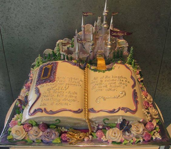 Absolutely amazing fairy tale cake!: