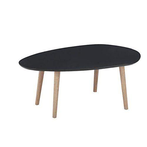 Table basse Galet 88cm laquée grise: Amazon.fr: Jardin