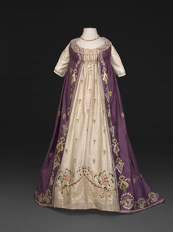 Embroidered Evening Dress, 17980/1800