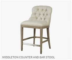 Middleton Counter & Bar Stool from Thibaut Fine Furniture
