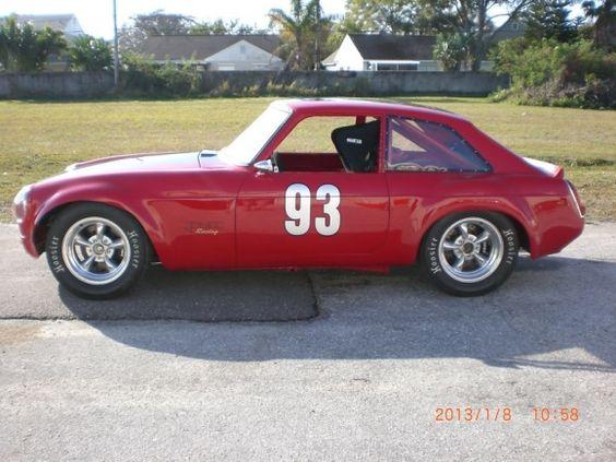 V8 Rocket: 1970 MGB GT Racer
