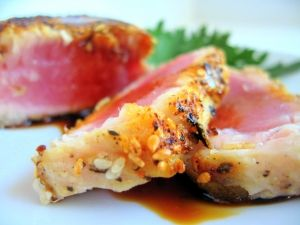 Sesame Crusted Ahi Tuna