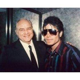 Marlon Brando and Michael Jackson