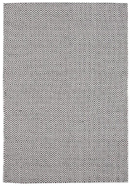 Spark Nu2 Black Cotton Flatweave Rug With Images Flat Weave Rug Cotton Rug Flat Weave