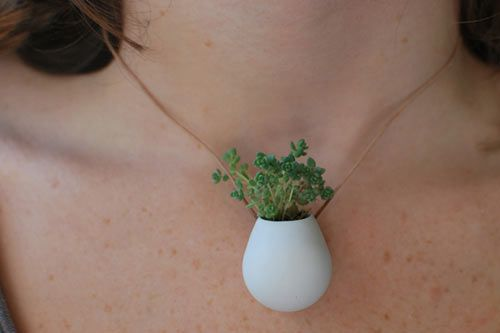 Just another planter necklace...
