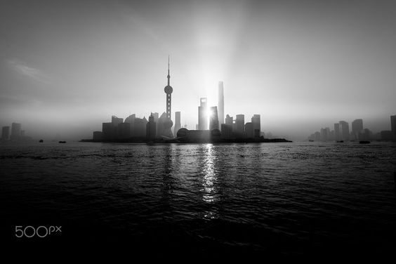 Shanghai Bund Skyline View by Minh Tang on 500px. At sunrise