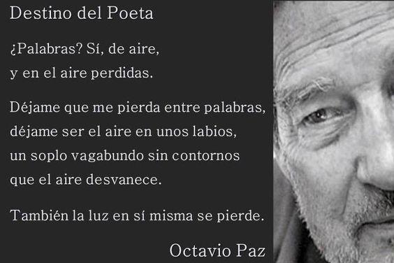 poemas de octavio paz - Buscar con Google